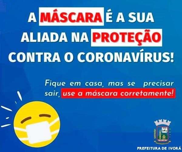 USE MÁSCARA!!!