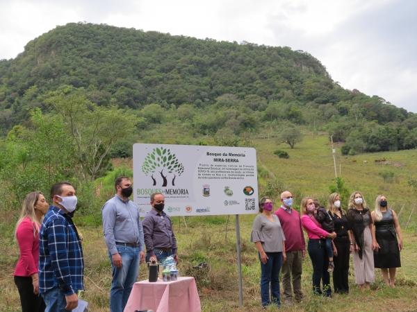 Bosque da Memória é implantado em Ivorá em comemoração aos 33 anos do Município