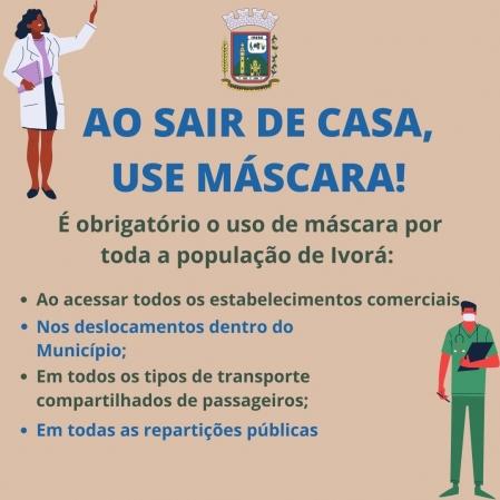O uso de máscara é obrigatório em todo o território ivorense