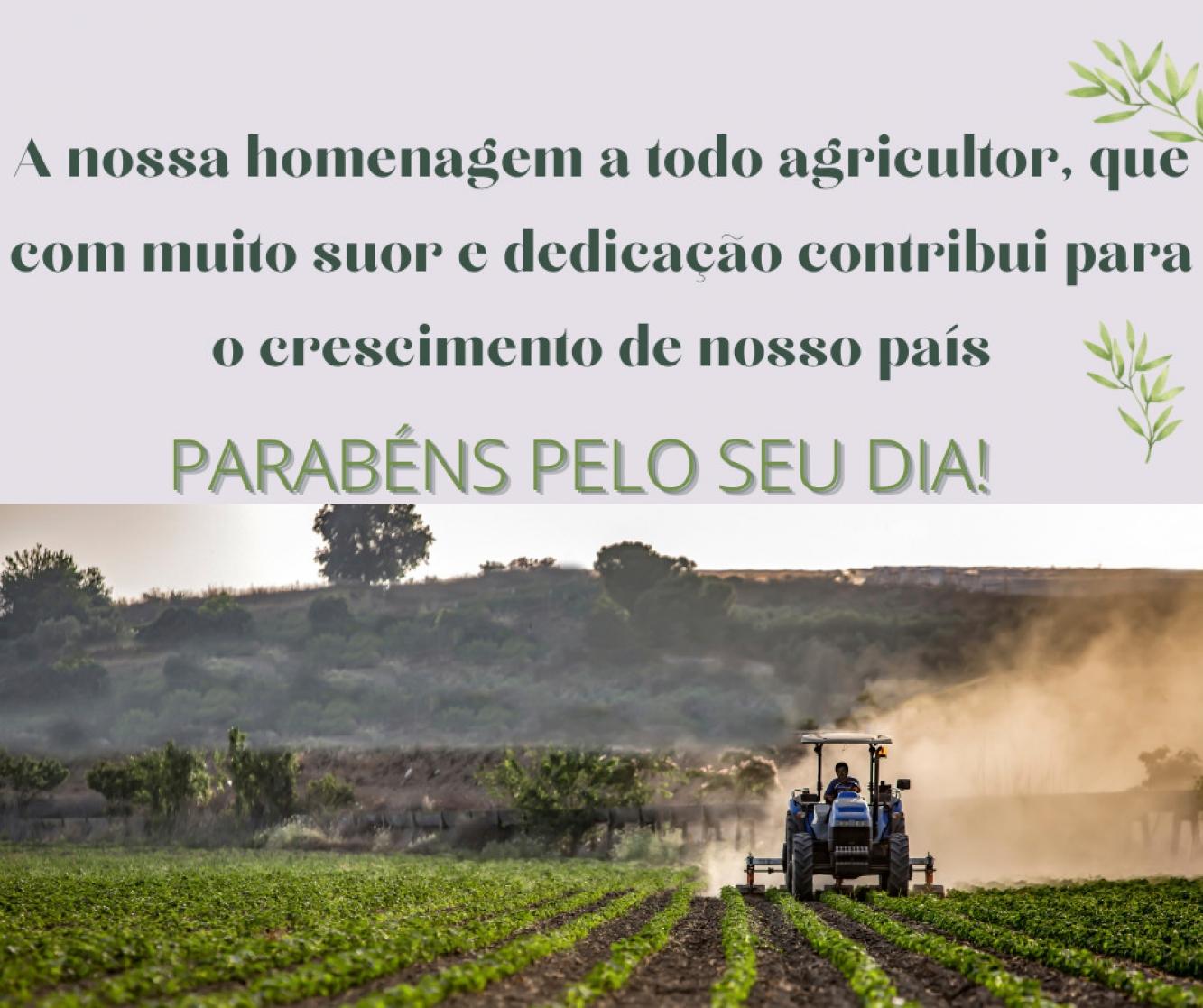 Parabéns agricultor!