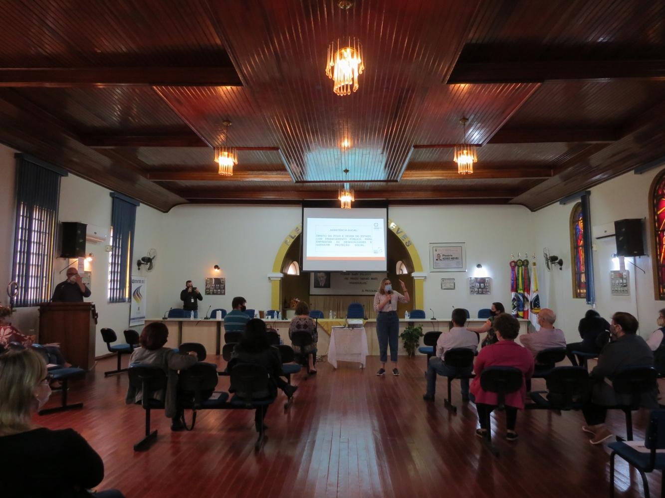 Realizada IX Conferência de Assistência Social de Ivorá
