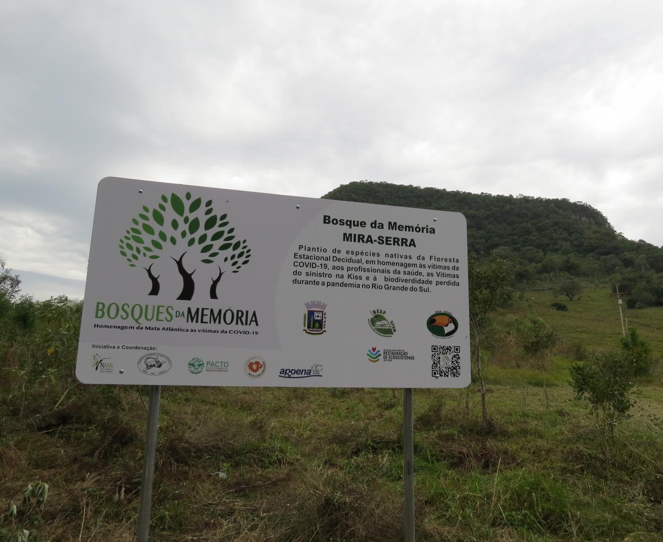 """""""Saúde Ambiental"""" é tema de plantio de árvores nativas em Ivorá"""