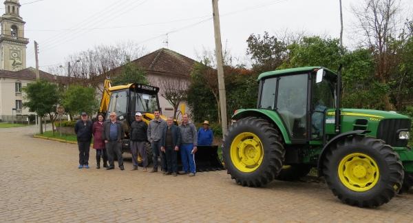 Ivorá recebe máquinas da Bancada Gaúcha
