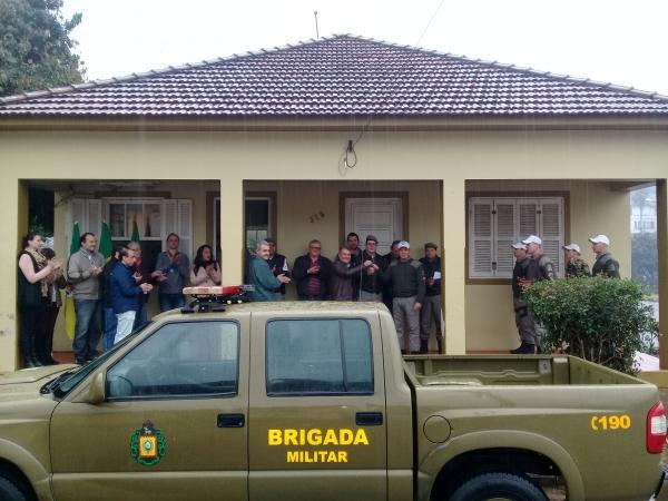Brigada Militar de Ivorá é contemplada com viatura