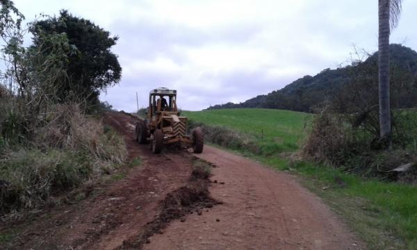 Estradas em constante manutenção