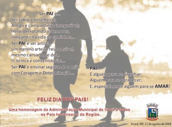 Mensagem de Dia dos Pais