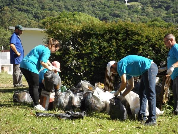 Ivorá recolhe mais de 5 toneladas de lixo seco em Mutirão de Limpeza