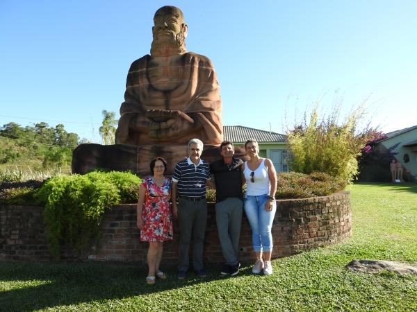 Ivorá terá Rota com estátuas até o Jardim das esculturas