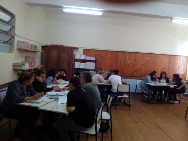 Professores mobilizados na melhoria da Educação