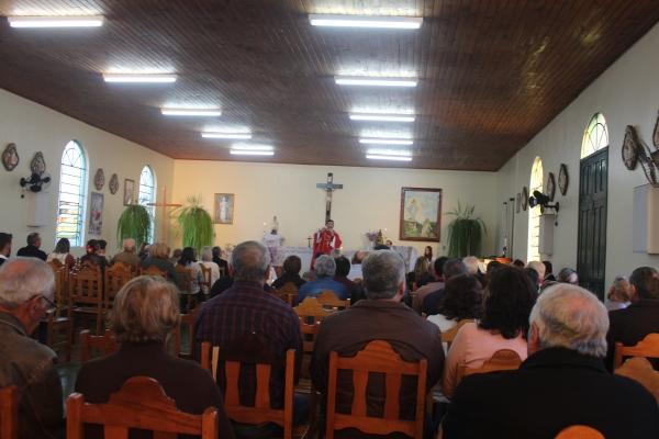 Semana Cultural de Ivorá contou com Missa em Italiano