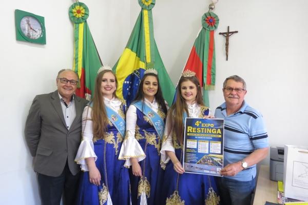 Prefeito Ademar Binotto confirma presença na 4ª Expo Restinga