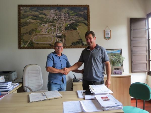 Prefeito Binotto entra em férias. Ivair Maziero assume Governo Municipal