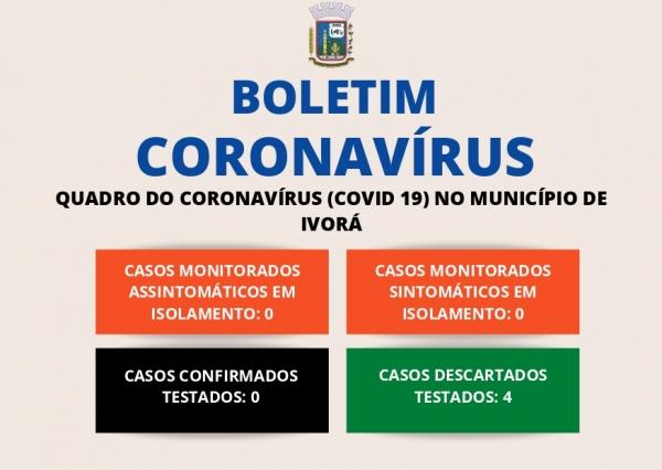 BOLETIM CORONAVÍRUS 08/06/2020