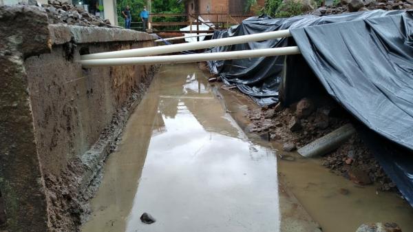 Galeria de Água Pluvial em fase de conclusão em Ivorá