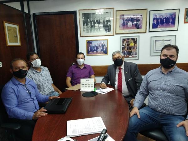 Prefeito Saulo e vice Jordano cumprem agenda na Capital Gaúcha