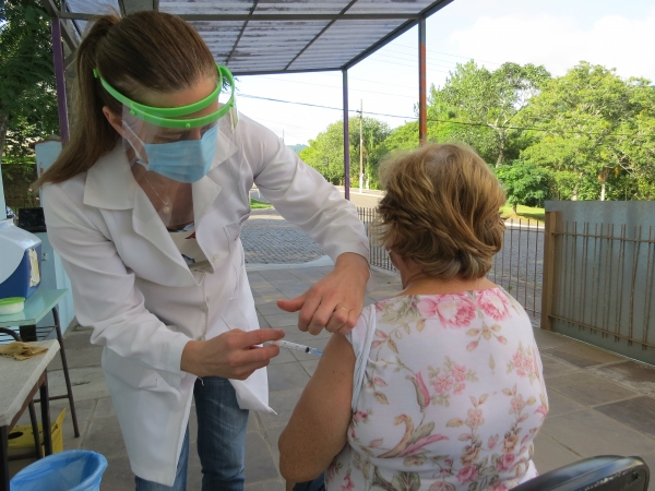 Ivorá realiza mais uma etapa de Vacinação contra Covid-19